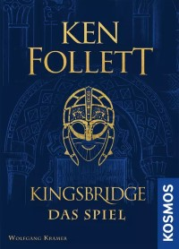 Kingsbridge: Das Spiel, KOSMOS, 2021 — front cover (image provided by the publisher)