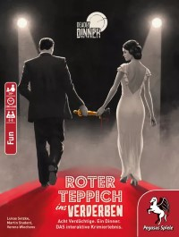 Deadly Dinner: Roter Teppich ins Verderben, Pegasus Spiele, 2021 — front cover