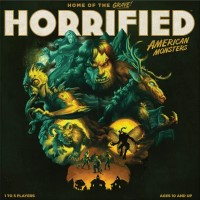 Horrified: American Monsters, Ravensburger, 2021 — front cover (image provided by the publisher)