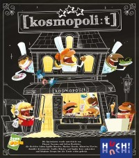 Kosmopolit, HUCH! / Jeux Opla, 2021 — front cover (image provided by the publisher)