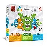 INTERACTION 2019 von Rudy Games - Interaktiver Brettspiel Spaß mit App und Malstift, Für Kinder...