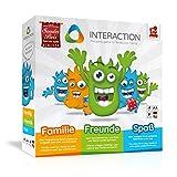 INTERACTION 2018 von Rudy Games - Interaktiver Brettspiel Spaß mit App und Malstift, Für Kinder...