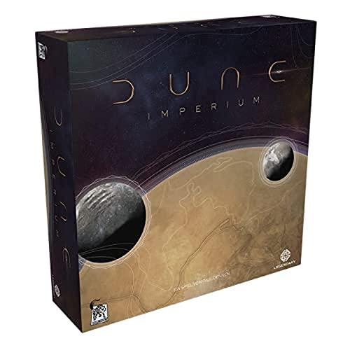 Asmodee DE DWDD0001 Asmodee Dune: Imperium, Kennerspiel, Strategiespiel, Deutsch