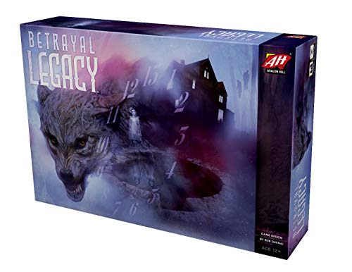Betrayal Legacy, Avalon Hill, 2018 (image provided by the publisher)