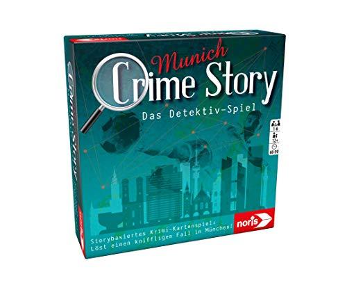 Noris 606201890 Crime Story Munich-Das Detektiv Spiel-Storybasiertes Krimi-Kartenspiel zum Thema...
