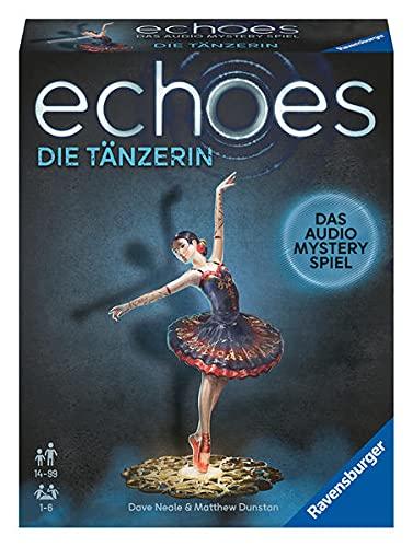 Ravensburger 20812 - echoes Die Tänzerin - Audio Mystery Spiel ab 14 Jahren, für 1-6 Spieler,...
