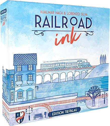 Heidelberger Spieleverlag HR014 Horrible Guild - Railroad Ink: Edition Tiefblau