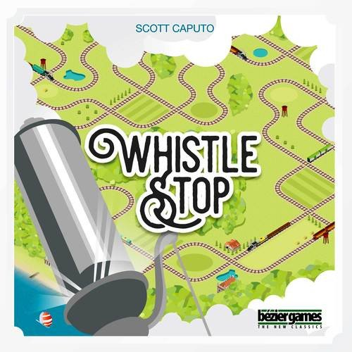 Bezier Games BEZ00023 Brettspiel Whistle Stop