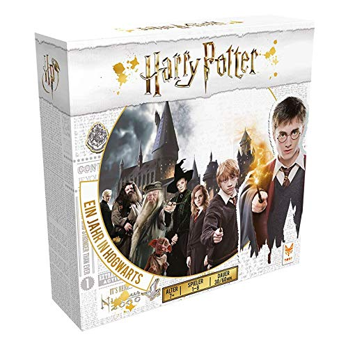 Asmodee Harry Potter Ein Jahr in Hogwarts, Familienspiel, Strategiespiel, Deutsch