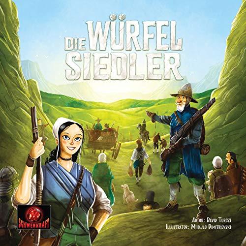Schwerkraft-Verlag Die Würfelsiedler - Grundspiel