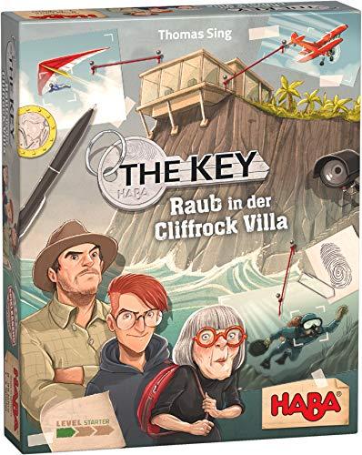 HABA 305543 - The Key – Raub in der Cliffrock-Villa, detektivisches Krimi-Spiel für 1–4 Spieler...