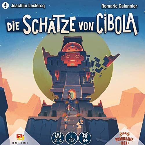 Board Game Box - Die Schätze von Cibola