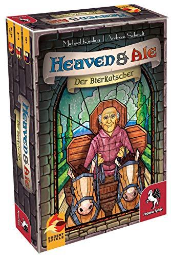 Pegasus Spiele 54549G - Heaven & Ale: Der Bierkutscher (eggertspiele)