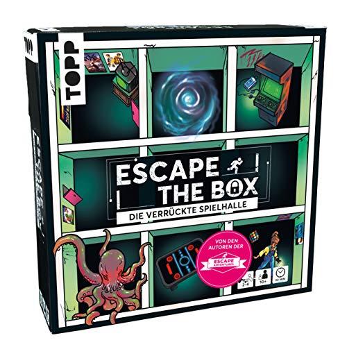Escape The Box – Die verrückte Spielhalle: Das ultimative Escape-Room-Erlebnis als...