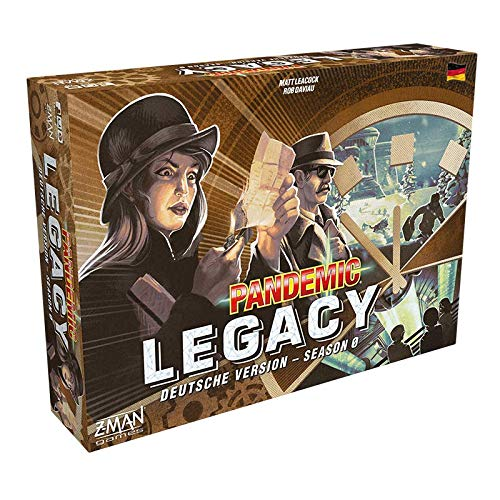 Asmodee Pandemic Legacy - Season 0, Familienspiel, Strategiespiel, Deutsch