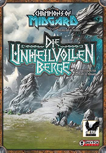 Corax Games 1023651 Champions of Midgard - Die unheilvollen Berge Erweiterung Deutsch