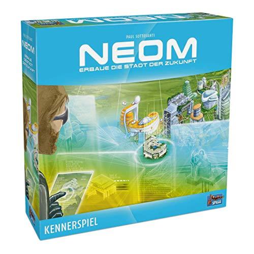 Lookout Games 22160102 Neom-Erbaue die Stadt der Zukunft (Kennerspiel)