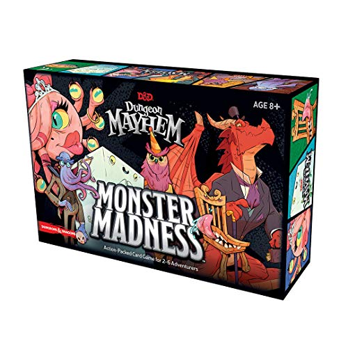 Dungeon Mayhem: Monster Mayhem, Wizards of the Coast, 2020 (image provided by the publisher)