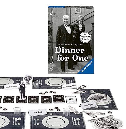 Ravensburger Partyspiel - 26835 - Der 90. Geburtstag oder Dinner for One - Gesellschaftsspiel für...