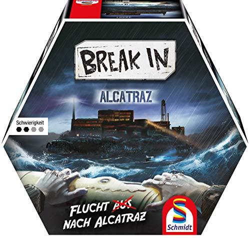 Break In Alcatraz, Schmidt Spiele, 2020 (image provided by the publisher)