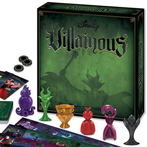 Ravensburger 26055 - Disney Villainous, Brettspiel für Kinder und Erwachsene, 2-6 Spieler,...