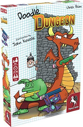 Pegasus Spiele 51846E Doodle Dungeon (englische Ausgabe)