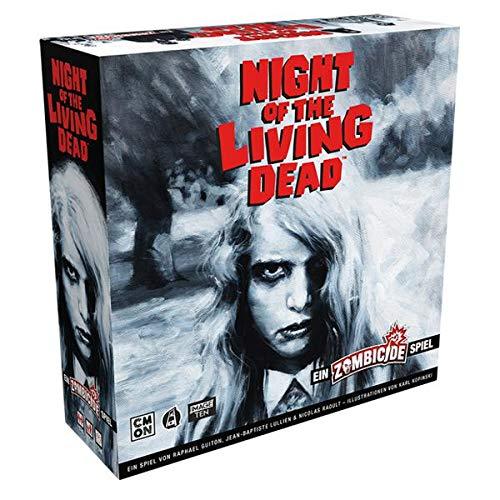 Asmodee Zombicide Night of the Living Dead, Grundspiel, Expertenspiel, Dungeon Crawler, Deutsch
