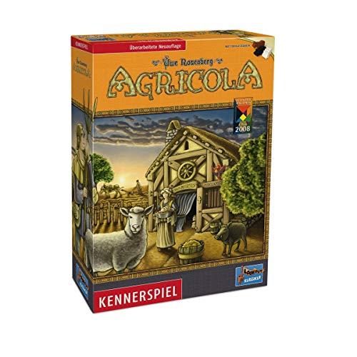 Top 10 Worker Placement Brettspiele - Agricola