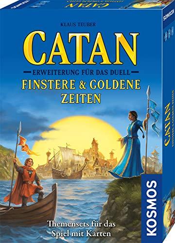 CATAN–Erweiterung für Das Duell–Finstere & Goldene Zeiten, Themensets für das Spiel mit...