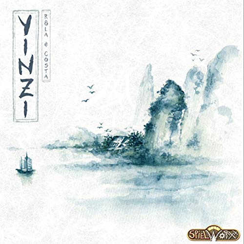 Yínzi: The Shining Ming Dynasty - Yinzi, Spielworxx, 2019 — front cover (image provided by the publisher)