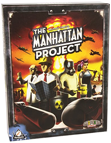 Top 50 Brettspiele - The Manhattan Project