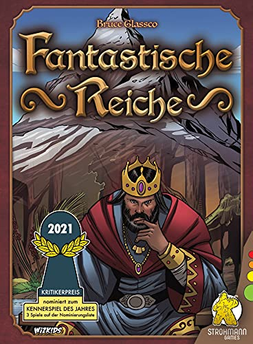 Fantasy Realms, WizKids, 2017 — front cover (image provided by the publisher)