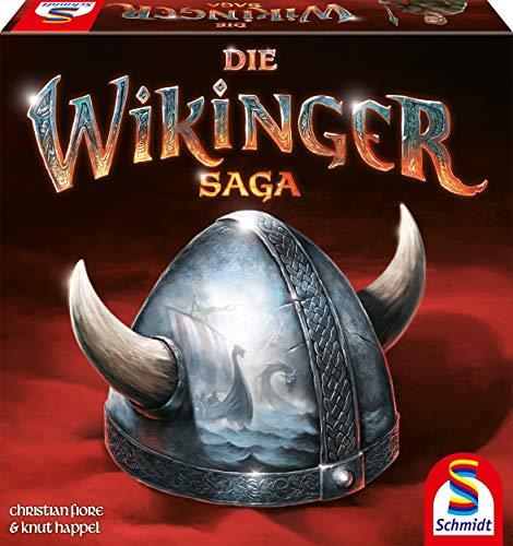 Schmidt Spiele 49369 Wikinger Saga, Kennerspiel, bunt