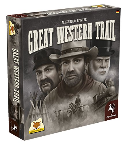 Top 10 Brettspiele Deckbuiding - Great Western Trail