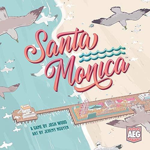 Santa Monica - Baue den schönsten Strand! Brettspiel von Skellig Games