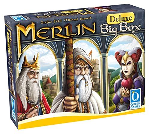 Queen Games 20293 - Merlin Deluxe Big Box