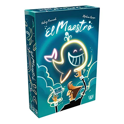 El Maestro, WizKids, 2020 — front cover (image provided by the publisher)
