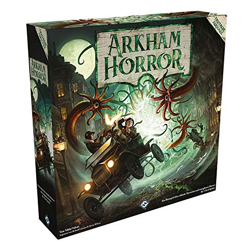 Asmodee Arkham Horror 3. Edition, Grundspiel, Expertenspiel, Deutsch