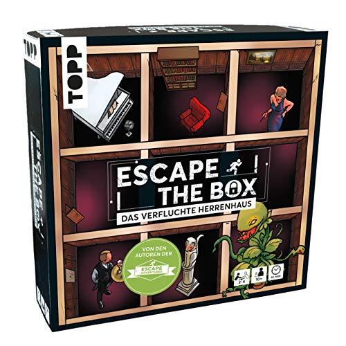 Escape The Box – Das verfluchte Herrenhaus: Das ultimative Escape-Room-Erlebnis als...