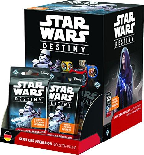 Fantasy Flight Games FFGD3202 - Star Wars: Destiny - Geist der Rebellion Booster (36) Display,...