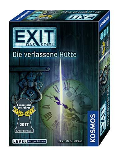 KOSMOS 692681 - EXIT - Das Spiel - Die verlassene Hütte, Kennerspiel des Jahres 2017, Level:...