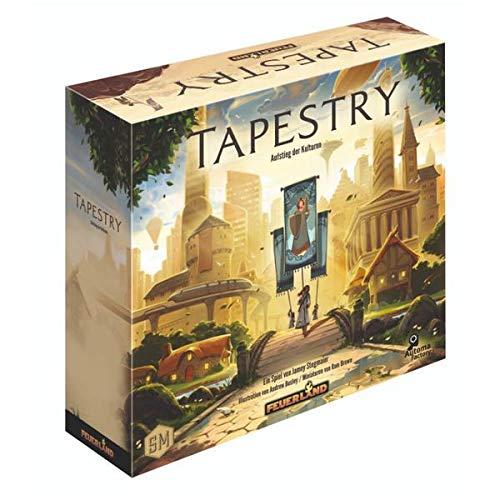Tapestry, Brettspiel (DE), für 1-5 Spieler, ab 12 Jahren