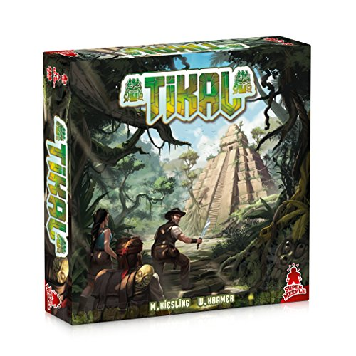 Tikal, Super Meeple, 2016 — front cover