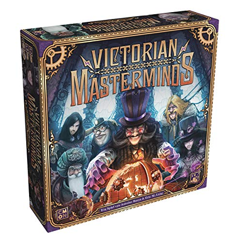 Victorian Masterminds, CMON Limited, 2019 — front cover
