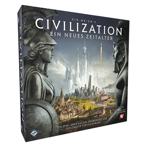 Fantasy Flight Games FFGD0160 Asmodee Civilization: Ein neues Zeitalter, Grundspiel, Kennerspiel,...