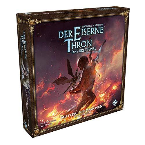 Asmodee Der Eiserne Thron: Das Brettspiel 2. Edition - Mutter der Drachen, Erweiterung,...