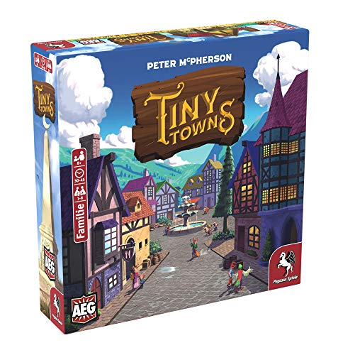 Tiny Towns - Meine Top 10 Brettspiele 2019