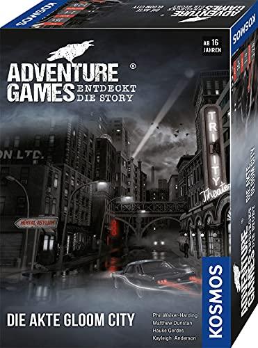 KOSMOS 695200 Adventure Games - Die Akte Gloom City. Entdeckt die Story, Kooperatives...