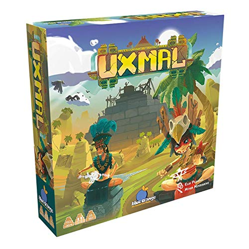 Uxmal, Blue Orange Games, 2019 (image provided by the publisher)