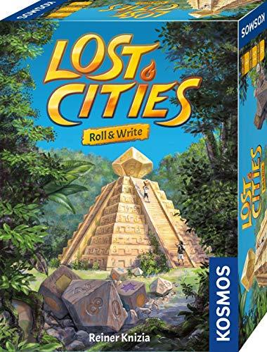 Kosmos 680589 Lost Cities - Roll & Write, Das beliebte Abenteuer-Spiel als Würfelspiel mit...